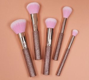 Tarte Rosegold makeup brushes